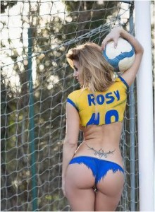 Rosy Maggiulli nuda